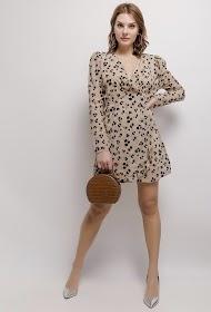 VAN DER ROCK patterned dress