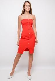 VAN DER ROCK strapless dress