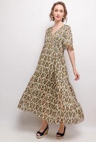 VAN DER ROCK long printed dress