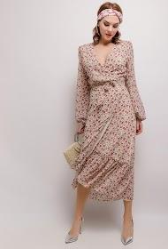 VAN DER ROCK long wrap dress
