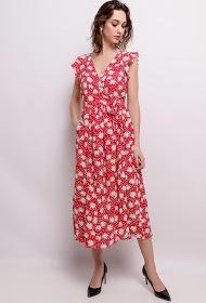 VAN DER ROCK floral midi dress