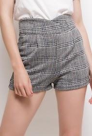VAN DER ROCK karierte shorts
