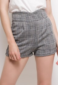 VAN DER ROCK checked shorts