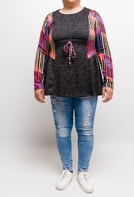VETI STYLE knitted tunic