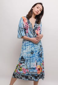 VETI STYLE printed dress