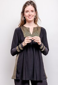 VETI STYLE blouse with sequins