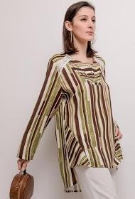 VETI STYLE gestreepte blouse