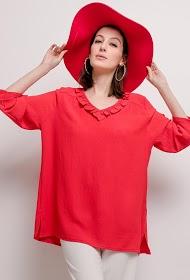 VETI STYLE ruffled blouse
