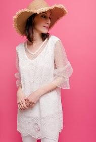 VETI STYLE lace blouse