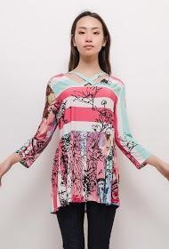 VETI STYLE printed blouse