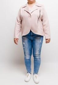 VETI STYLE jacket with golden zip