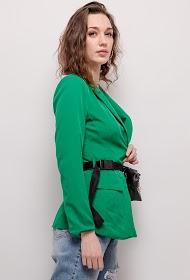 WILLY Z blazer with pocket belt