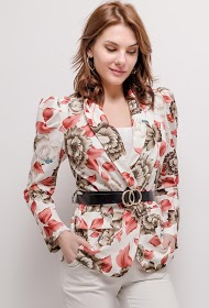 WILLY Z floral blazer