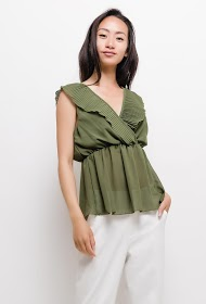 WILLY Z ruffled blouse