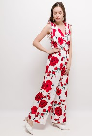 WILLY Z flower jumpsuit
