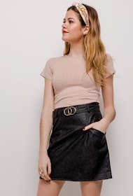 WILLY Z faux leather skirt