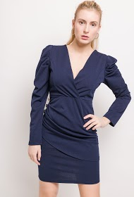 WILLY Z dress with puff sleeves