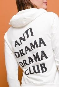 WILLY Z hooded sweatshirt