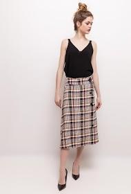 WISH BY ANJEE plaid skirt