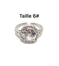 Z. EMILIE solitaire steel ring