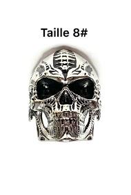 Z. EMILIE skull steel ring