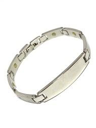 Z. EMILIE steel bracelet to engrave
