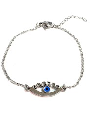 Z. EMILIE steel eye bracelet