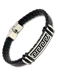 Z. EMILIE braided steel bracelet
