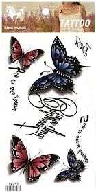 Z. EMILIE temporary tattoo