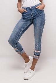 ZAC ET ZOÉ skinny jeans with rhinestones