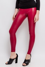 ZAC ET ZOÉ leatherette leggings