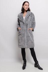 ZAC ET ZOÉ long fur coat
