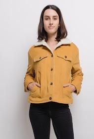 ZAC & ZOÉ veste en velours côtelé