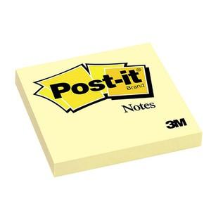 POST-IT NOTES CANARY GIALLO CANARIO 7.6x7.6cm}