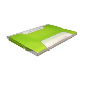 CARTELLINA 3 LEMBI ACTION FOLDER VERDE ACIDO 25x32cm KEBA