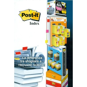 POST-IT INDEX ESPOSITORE 185x34cm