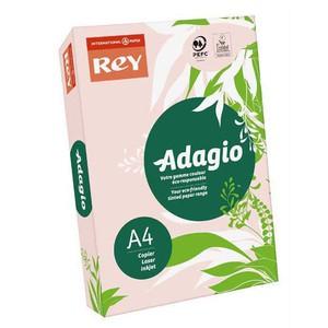 REY - ADAGIO A4 ROSA 07 120gr