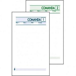 BLOCCO COMANDA RISTORANTE 2 COPIE 10x17cm