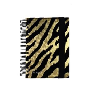 NOTEBOOK MAKULA GOLD TIGER 15x21cm A5 PUNTINATO 100 FOGLI