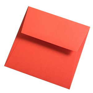 BUSTA COLORPLAN BRIGHT RED 15.5x15.5cm STRIP}