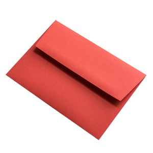 BUSTA COLORPLAN BRIGHT RED 16.2x22.9cm C5 STRIP