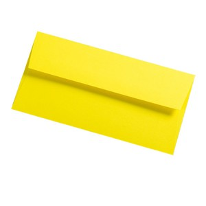 BUSTA COLORPLAN FACTORY YELLOW 11x22cm DL STRIP