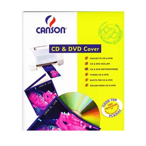 CD & DVD COVER BIANCO A4 230gr CANSON