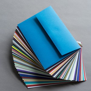 BUSTA COLORPLAN MATRIX AZURE BLUE 16.2x22.9cm C5 STRIP GF SMITH