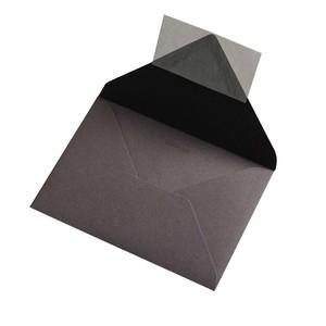 BUSTA COLORPLAN DARK GREY 12.5x17.6cm B6 STRIP}