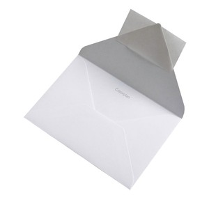 BUSTA COLORPLAN ICE WHITE 12.5x17.6cm B6 STRIP}