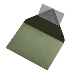 BUSTA COLORPLAN MID GREEN 12.5x17.6cm B6 STRIP