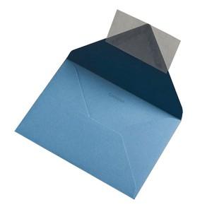 BUSTA COLORPLAN NEW BLUE 12.5x17.6cm B6 STRIP}