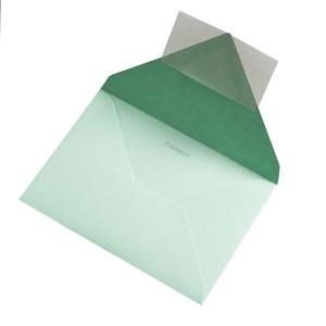 BUSTA COLORPLAN PARK GREEN 12.5x17.6cm B6 STRIP}