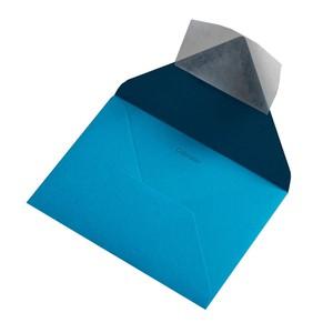 BUSTA COLORPLAN TABRIZ BLUE 12.5x17.6cm B6 STRIP}